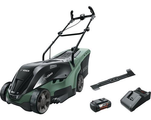 Gräsklippare BOSCH Universal Rotak 36V 36-555 inkl. laddare och batteri