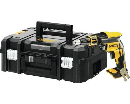 DEWALT Batteridriven gipsskruvdragare DCF620NT 18 V Li inkl. förvaringslåda utan batteri och laddare