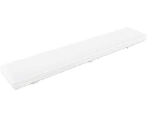 Lysrörsarmatur LUMAK PRO LED 48W 4800lm 4000K neutralvit L 900mm vit IP20