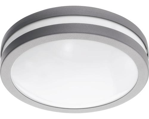 Vägglykta EGLO Locana LED IP44 14W 1400lm 3000K varmvit silver/vit H260mm