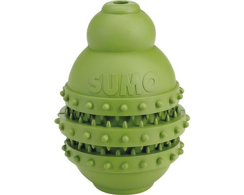Hundleksak KARLIE Sumo Play Dental 9x9x12cm grön
