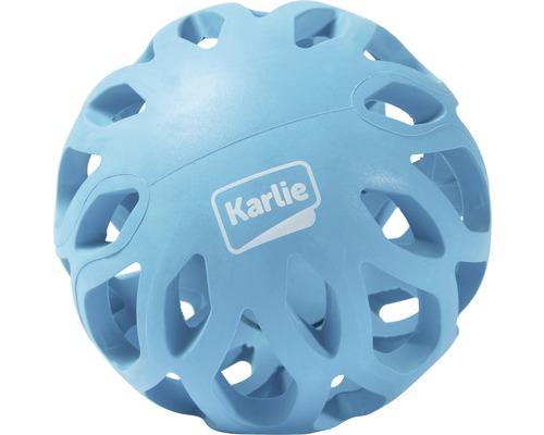 Hundleksak KARLIE gallerboll Koko 11x11x19,5cm blå