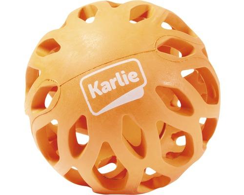 Hundleksak KARLIE gallerboll Koko 8x8x6,5cm orange