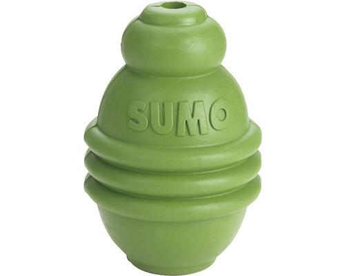 Hundleksak KARLIE Sumo Play 6x6x8cm grön