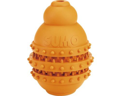 Hundleksak KARLIE Sumo Play Dental 10x10x15cm orange