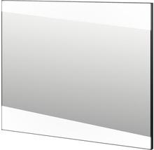 LED-spegel BADEN HAUS Qube 100x80cm svart