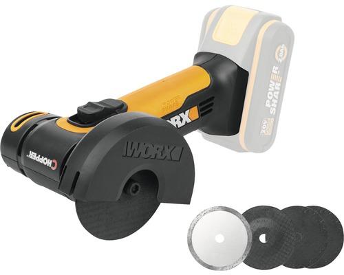 Vinkelslip WORX Mini WX801.9 20V utan batteri och laddare