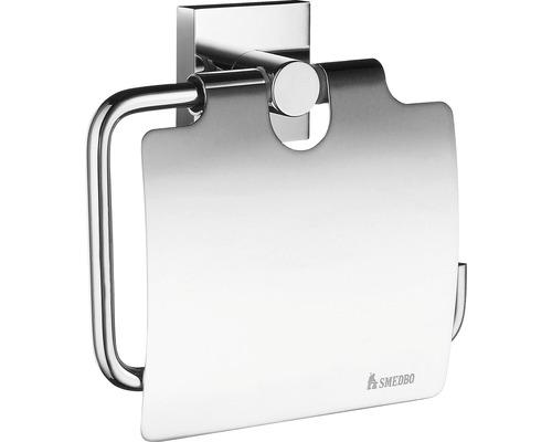 SMEDBO Toalettpappershållare med lock House krom