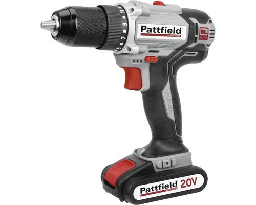 Borrskruvdragare PATTFIELD PE-20 HDBRL Brushless 20V (2 Ah) inkl. 1 batteri och laddare