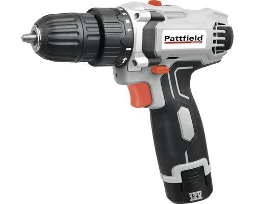 Borrskruvdragare PATTFIELD PE-12 DD 12V (1,5 Ah) inkl. 1 batteri och laddare