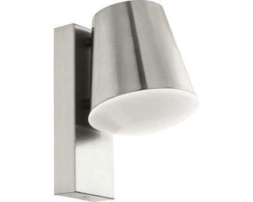 Vägglykta EGLO Caldiero LED IP44 9W 806lm 3000K varmvit rostfritt stål H240mm