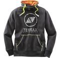 Sweatshirt TERRAX svart/lime stl XXL