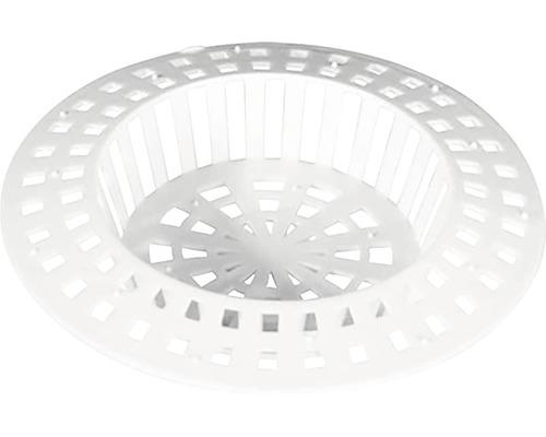 Hårsamlare 70mm vit plast