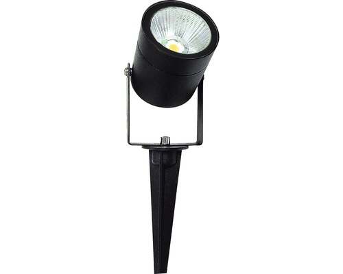 Spotlight LED 3W IP54 svart
