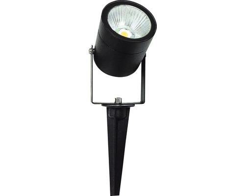 Spotlight LED 6W IP54 svart