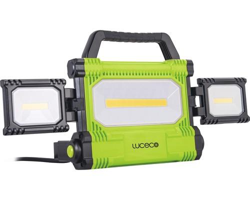 Arbetslampa LED 50W 5000lm 6500K 260x437mm IP54 svart/grön