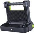 Arbetslampa sladdlös LED 20W 1800lm 6500K 223x189mm IP54 svart/grön