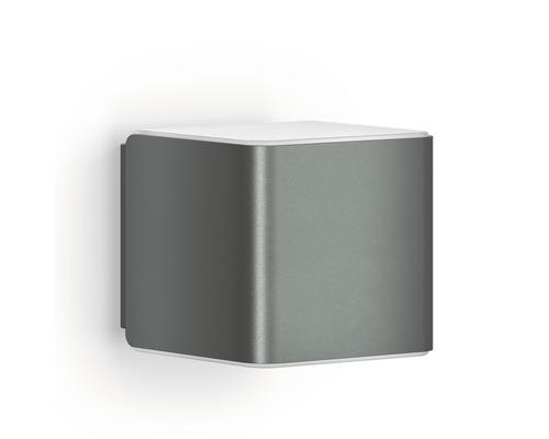 Utomhuslampa STEINEL Cubo L840 LED iHF 9,5W 300lm 3000K HxBxD 110x110x134mm Bluetooth antracit/vitantracit