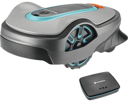 Robotgräsklippare GARDENA smart Sileno Life 1250 Erbjudande - få ett robothus på köpet