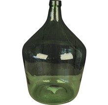 Glasflaska Ø29x46cm grön