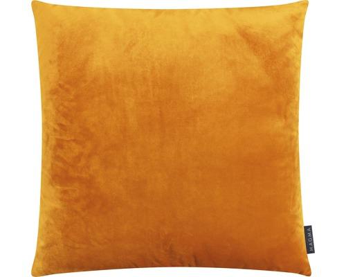 Kudde sammet MAGMA 50x50cm gul