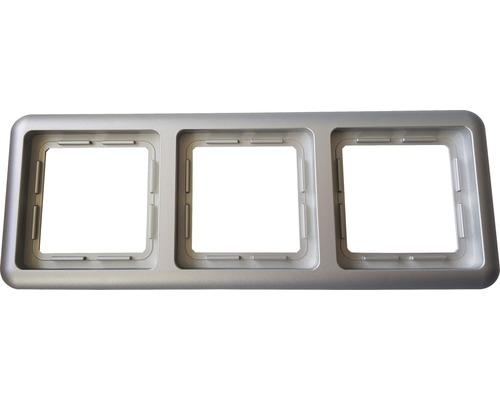 Ram 3-fack ROTH LANGE Plus silver