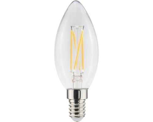 AIRAM LED-lampa filament kron E14 5W 470lm 2200K dimbar