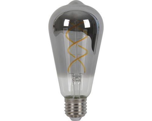 AIRAM LED-lampa filament edison E27 5W 125lm 2000K dimbar smoke