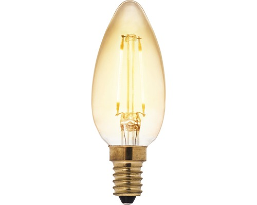AIRAM LED-lampa filament kron E14 5W 400lm 2200K dimbar