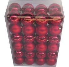 Julgranskulor LAFIORA 48-pack 8cm röd
