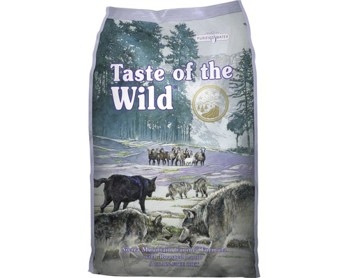 Hundmat Taste of the Wild Sierra Mountain Lamb 13kg