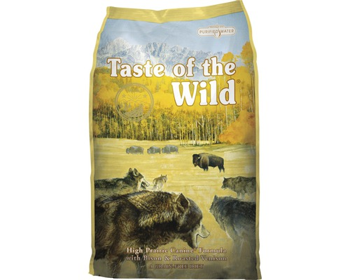 Hundmat Taste of the Wild High Prairie Bison 6kg