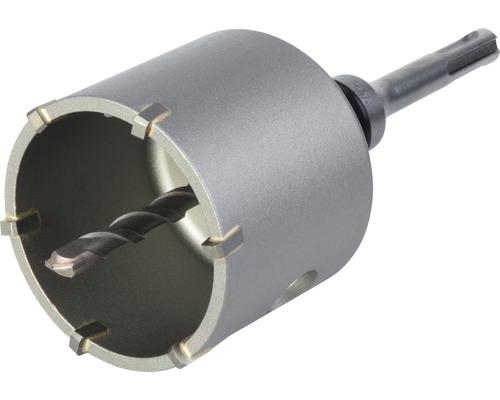 Hålsåg WOLFCRAFT i hårdmetall Ø 68mm med spänndorn SDS-plus och centrumborr