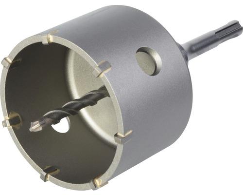 Hålsåg WOLFCRAFT i hårdmetall Ø 83mm med spänndorn SDS-plus och centrumborr