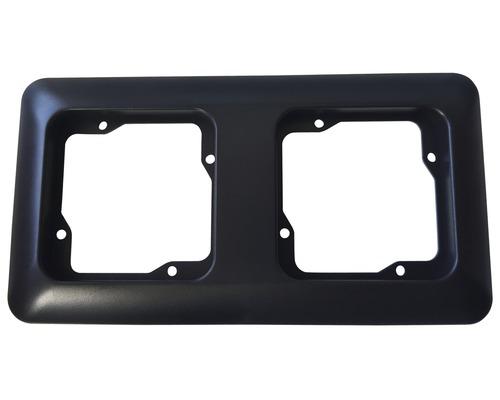 Ram 2-fack ROTH LANGE Basic svartgrå