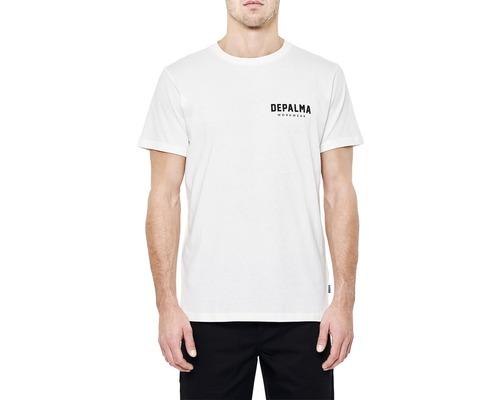 T-Shirt DEPALMA Logo vit strl. M