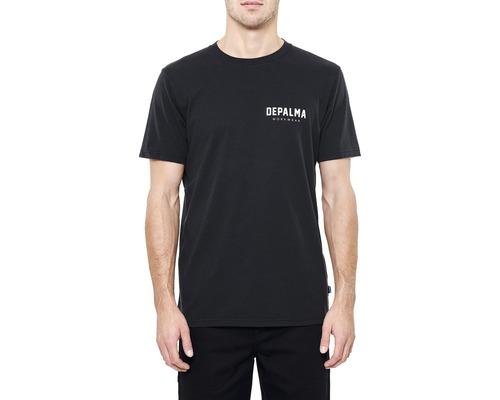 T-Shirt DEPALMA Logo svart strl. S