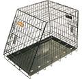 Hundbur DOGMAN 77,5x48,5x57cm svart