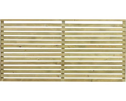 Skärmvägg/staket JABO Horizont 2 159x89cm impregnerad