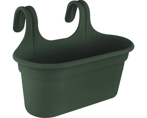 Balkonglåda ELHO Green Basics Easy Hanger L bladgrön