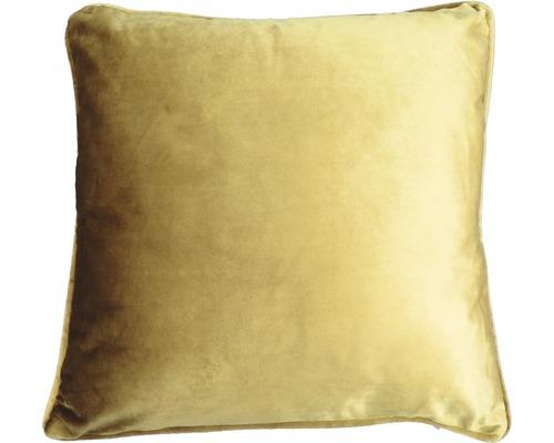 Kudde sammet SOLEVITO Velvet 45x45cm guld