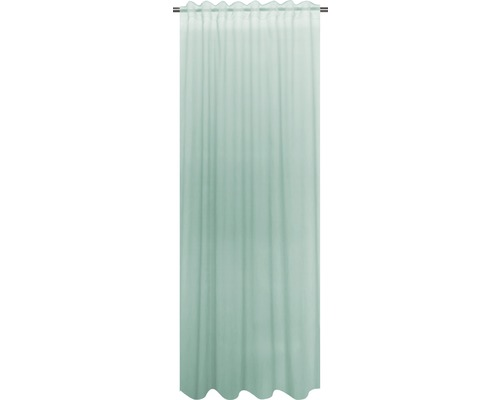 Gardin SOLEVITO m.veckb. Cambric mint 140x280cm