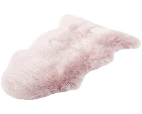 Fårskinn rosa 90x60cm