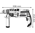 Slagborrmaskin BOSCH PROFESSIONAL GSB 20-2 inkl. L-CASE