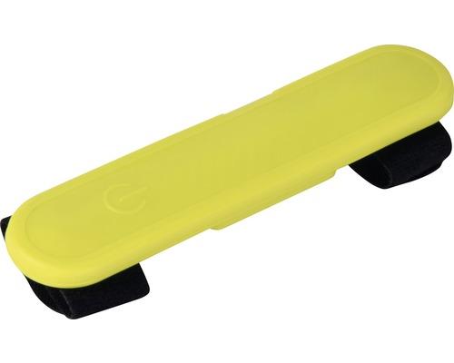 Silikonband DOBAR LED 12,2x2,7cm gult