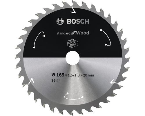 Sågklinga BOSCH Standard for Wood H Ø 165x20mm T36
