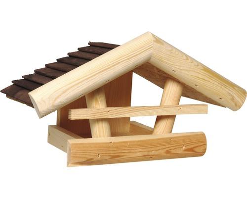 Fågelbord trä 20x36x20cm