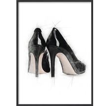 Poster ESTANCIA Black High Heels 30x40 cm