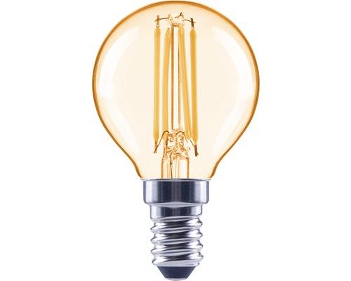 Klotlampa FLAIR LED filament E14 4W amber ej dimbar