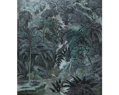 Fototapet Classic Chique Green Jungle